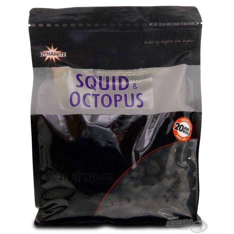 Dynamite Baits Squid & Octopus bojli 20 mm 1 kg