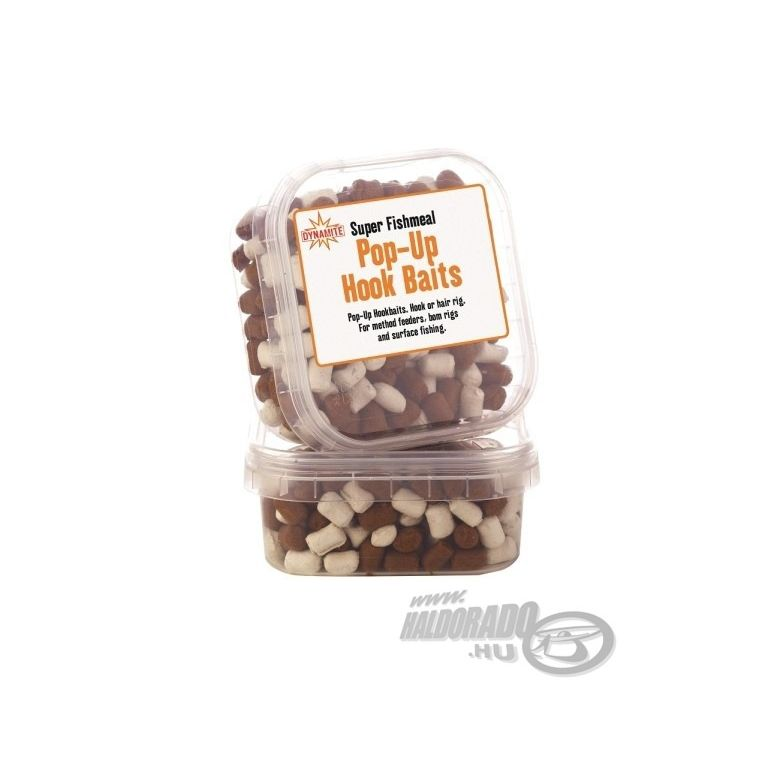 Dynamite Baits Super Fishmeal Pop-Up pellet White/Brown