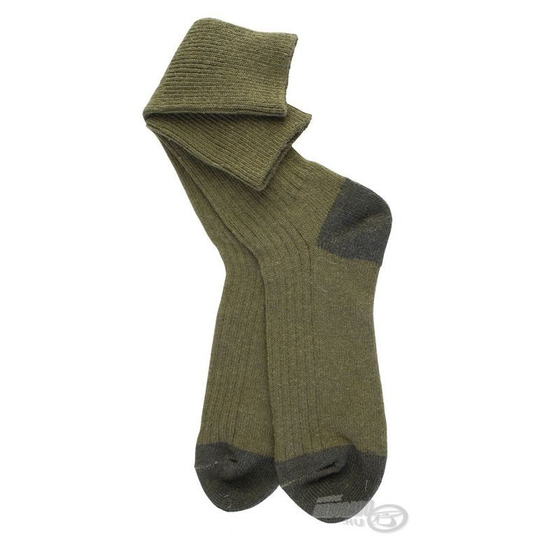 EIGER Vastag magasszárú zokni zöld 40/43