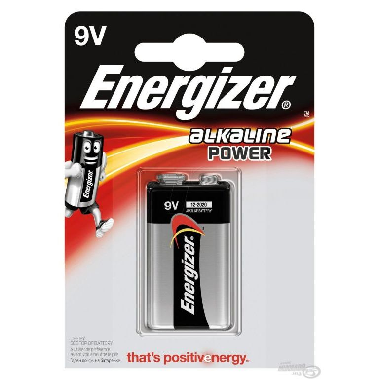 ENERGIZER Alkaline Power 9V elem