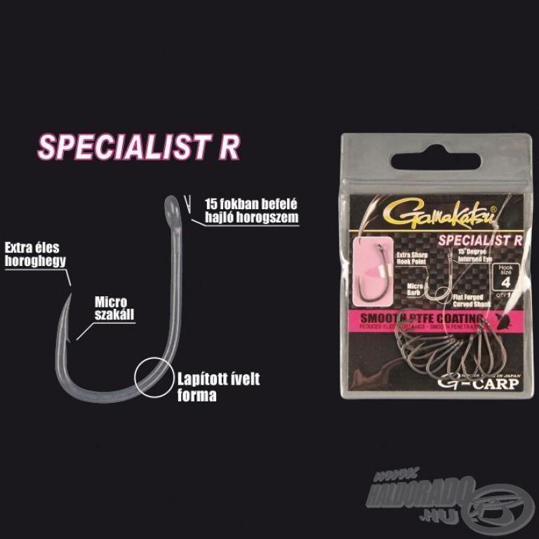 GAMAKATSU G-Carp Specialist R - 10