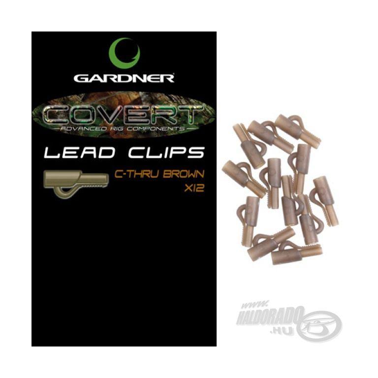 GARDNER Covert Lead Clips Brown