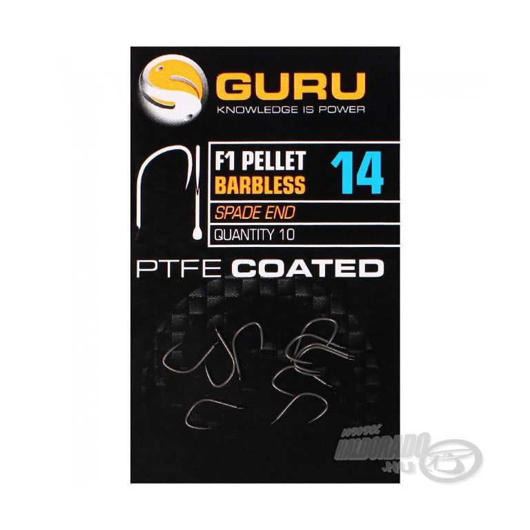 GURU F1 Pellet Barbless - 22