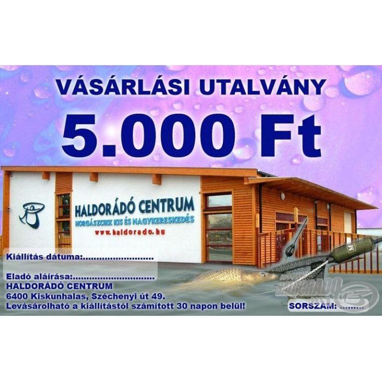HALDORÁDÓ Ajándékutalvány 5000 Ft
