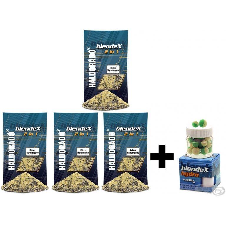 HALDORÁDÓ BlendeX 2 in 1 - Kókusz + Tigrismogyoró