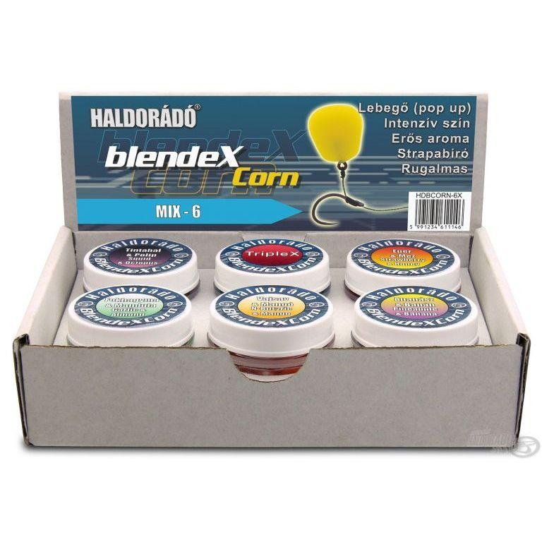 HALDORÁDÓ BlendexCorn - MIX-6   6 íz egy dobozban - Haldorádó ... ac19d1a2cd