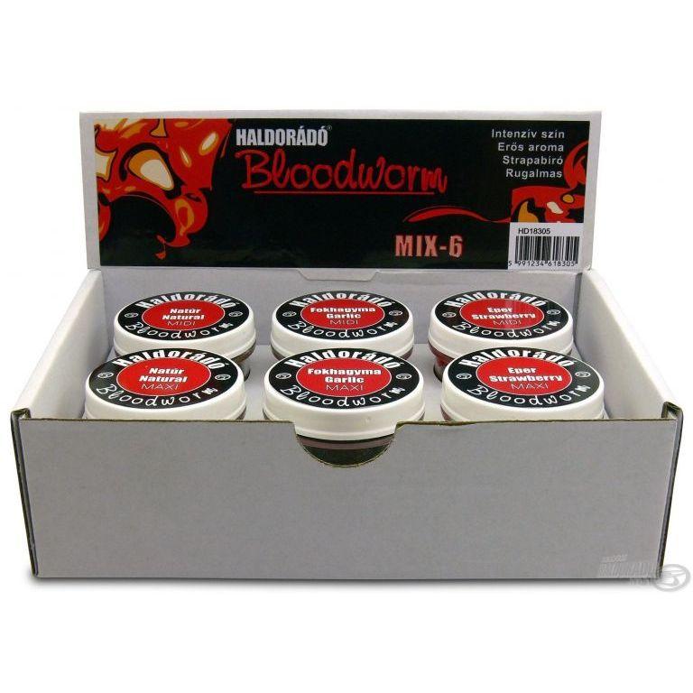 HALDORÁDÓ Bloodworm MIX-6 / 6 változat egy dobozban
