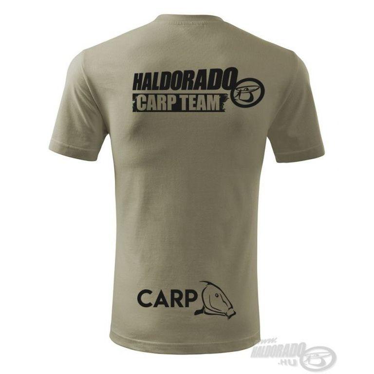 HALDORÁDÓ Carp Team Classic környakas póló L