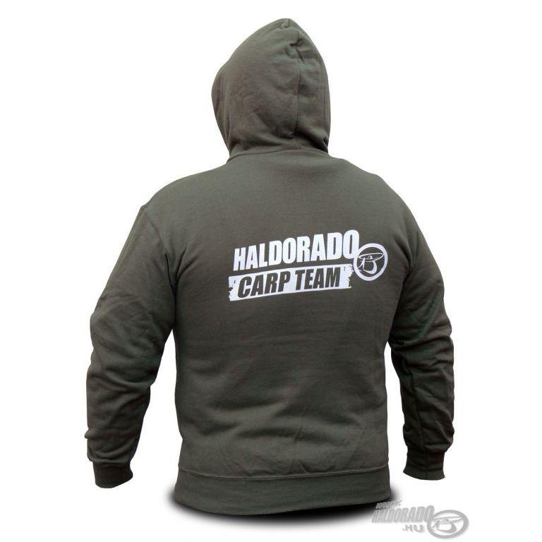 HALDORÁDÓ Carp Team kapucnis pulcsi S