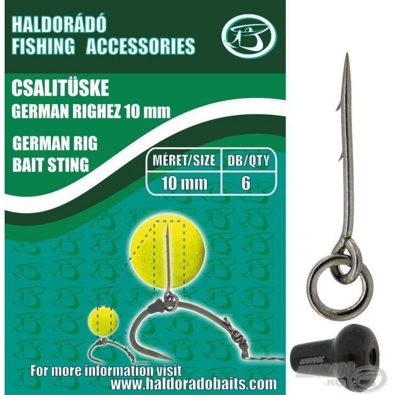 HALDORÁDÓ Csalitüske German Righez 10 mm