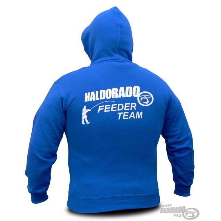 HALDORÁDÓ Feeder Team kapucnis pulcsi XL