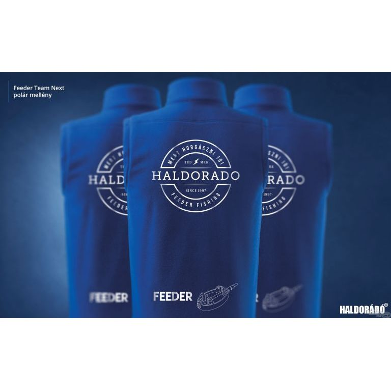HALDORÁDÓ Feeder Team Next polár mellény XXL