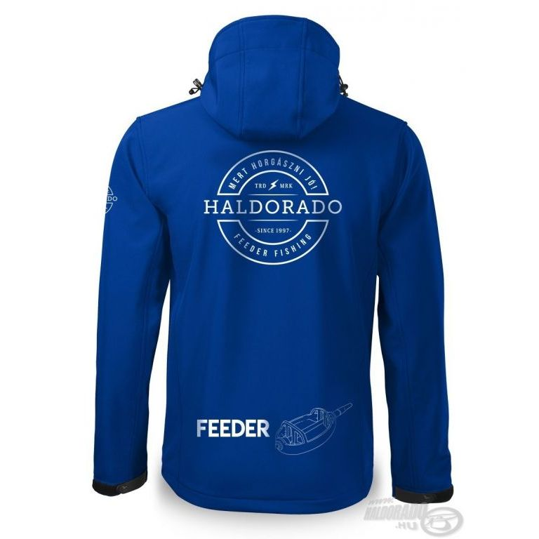 HALDORÁDÓ Feeder Team Softshell Performance kabát S