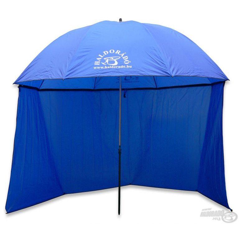 HALDORÁDÓ Kék sátras horgászernyő 250 cm
