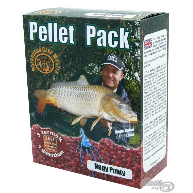 HALDORÁDÓ Pellet Pack - Nagy Ponty