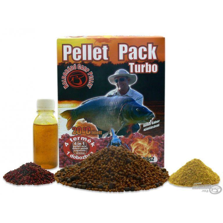 HALDORÁDÓ Pellet Pack Turbo - Édes Ananász