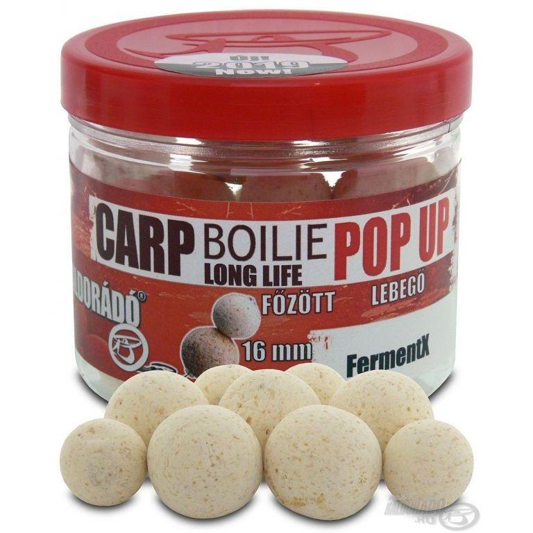 HALDORÁDÓ Pop Up főzött csalizó bojli - FermentX 16-20 mm