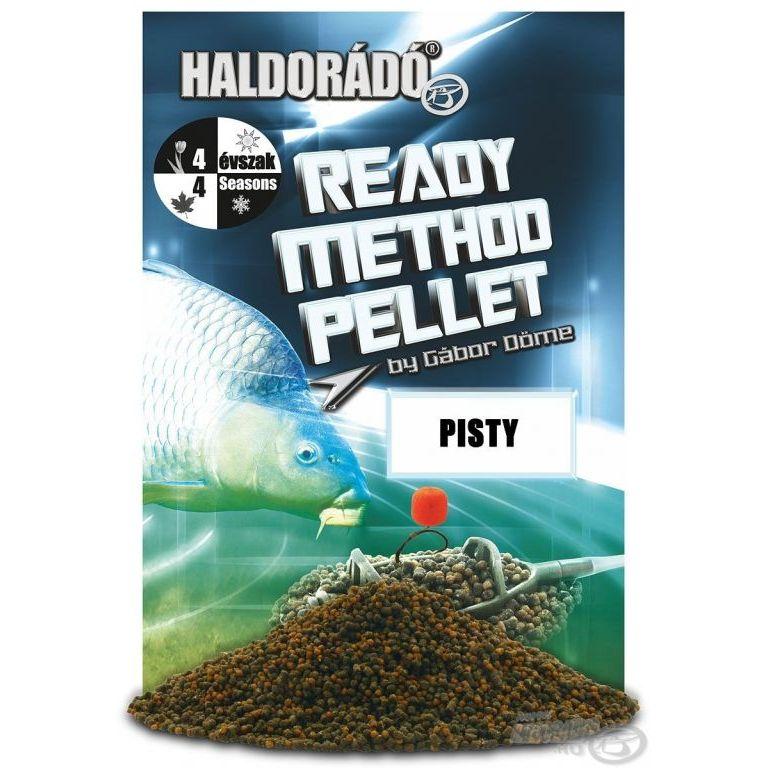 HALDORÁDÓ Ready Method Pellet - Pisty