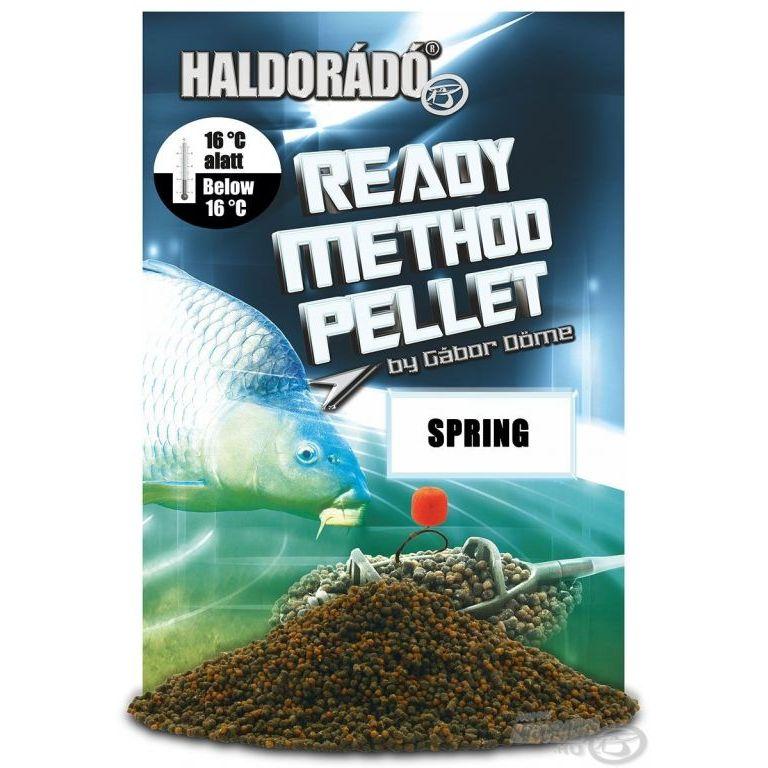 HALDORÁDÓ Ready Method Pellet - Spring