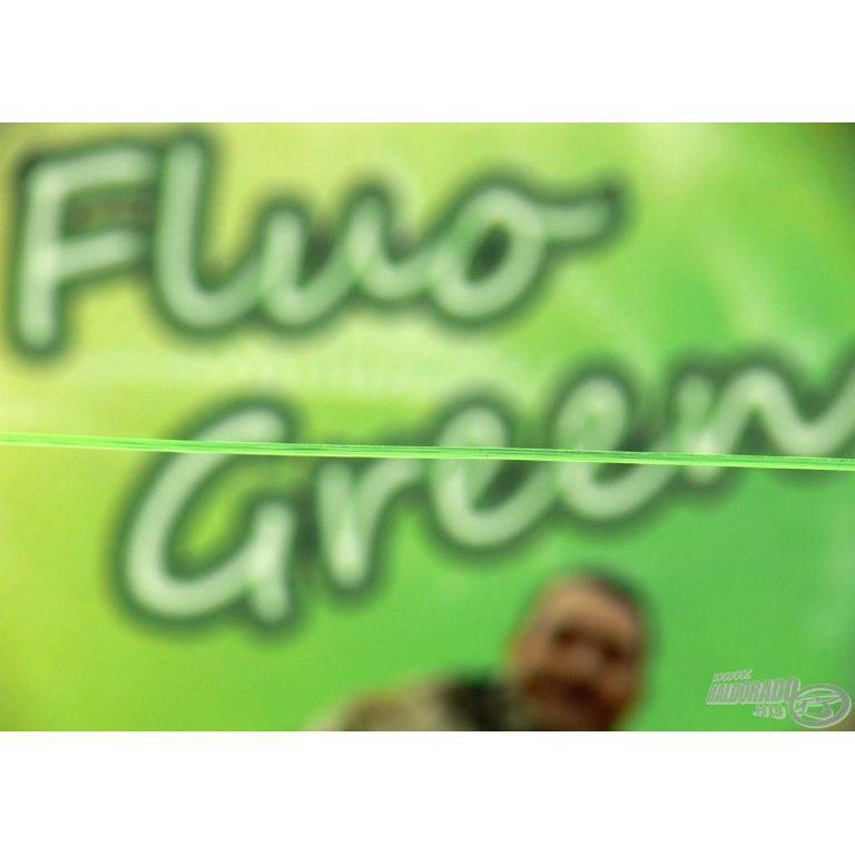 HALDORÁDÓ Record Carp Fluo Green 0,40 mm / 700 m