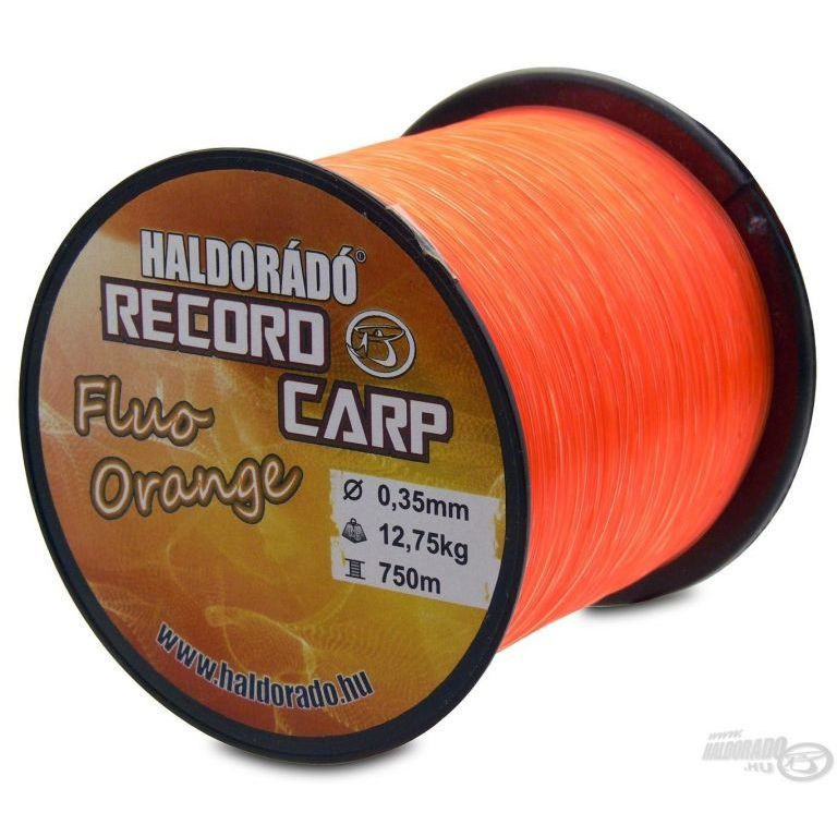HALDORÁDÓ Record Carp Fluo Orange 0,35 mm / 750 m