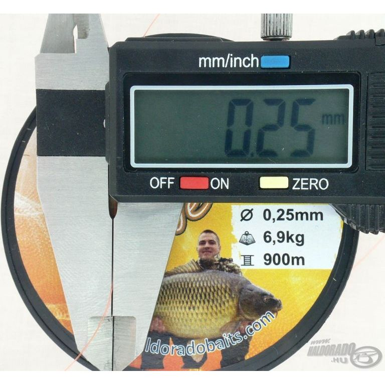 HALDORÁDÓ Record Carp Fluo Orange 0,35 mm / 750 m