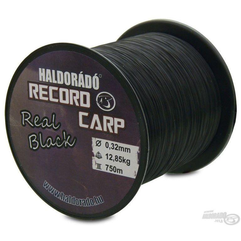 HALDORÁDÓ Record Carp Real Black 0,27 mm / 800 m