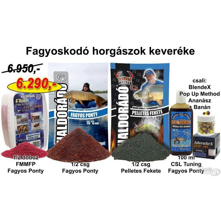 HALDORÁDÓ Téli recept 6 - Fagyoskodó horgászok keveréke