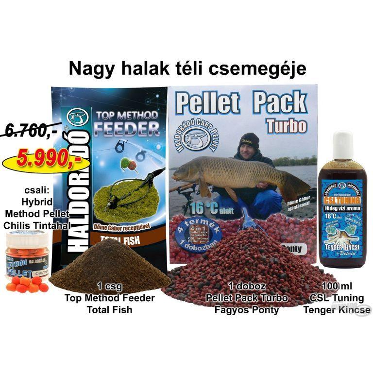 HALDORÁDÓ Téli recept 7 - Nagy halak csemegéje