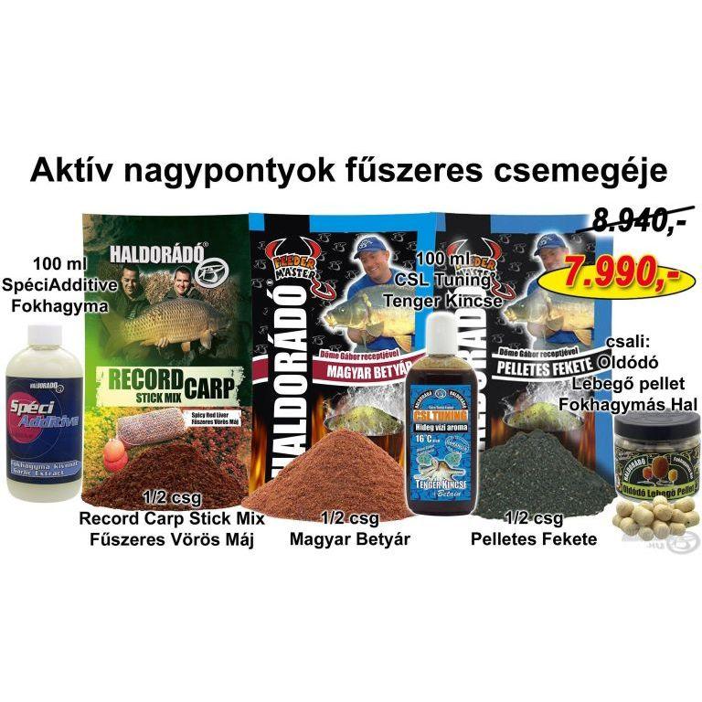 HALDORÁDÓ Téli recept 9 - Aktív nagypontyok fűszeres csemegéje