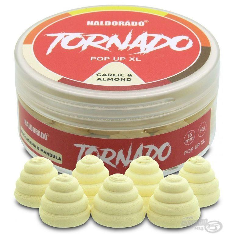 HALDORÁDÓ TORNADO Pop Up XL - Fokhagyma & Mandula