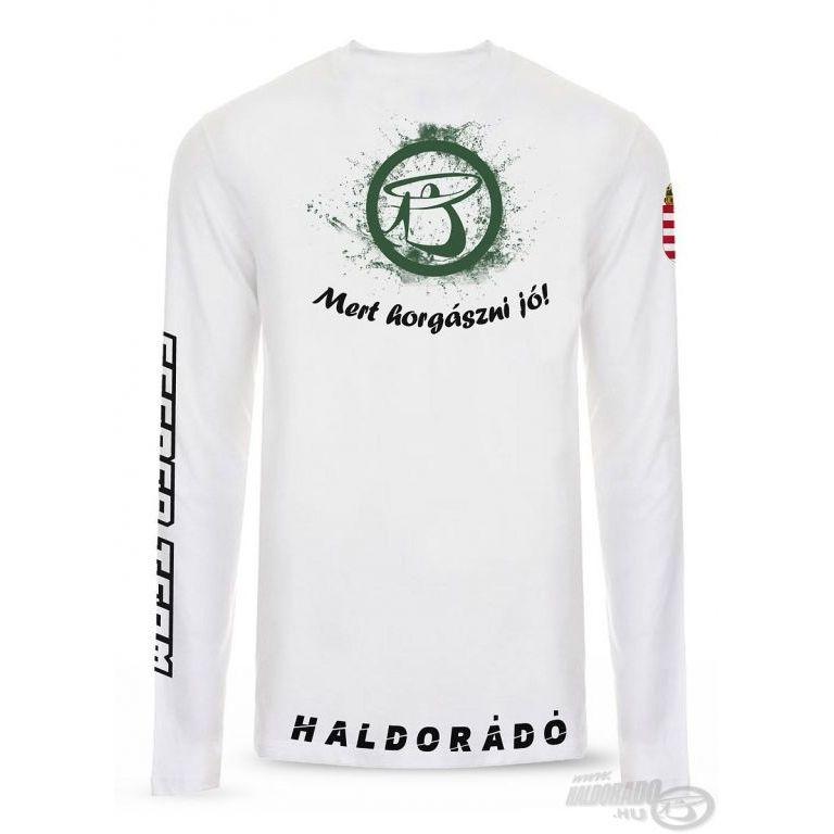 HALDORÁDÓ UV-álló póló hosszú ujjú M