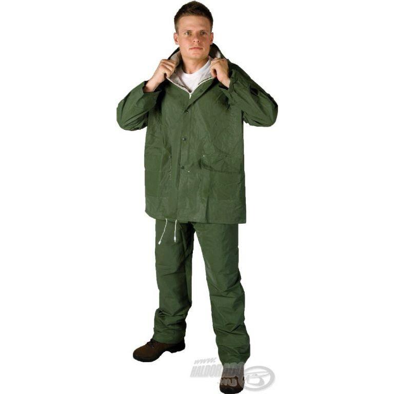 HUGO PVC esőruha zöld L
