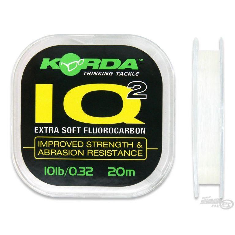 KORDA IQ 2 fluorocarbon előkezsinór 10 Lbs