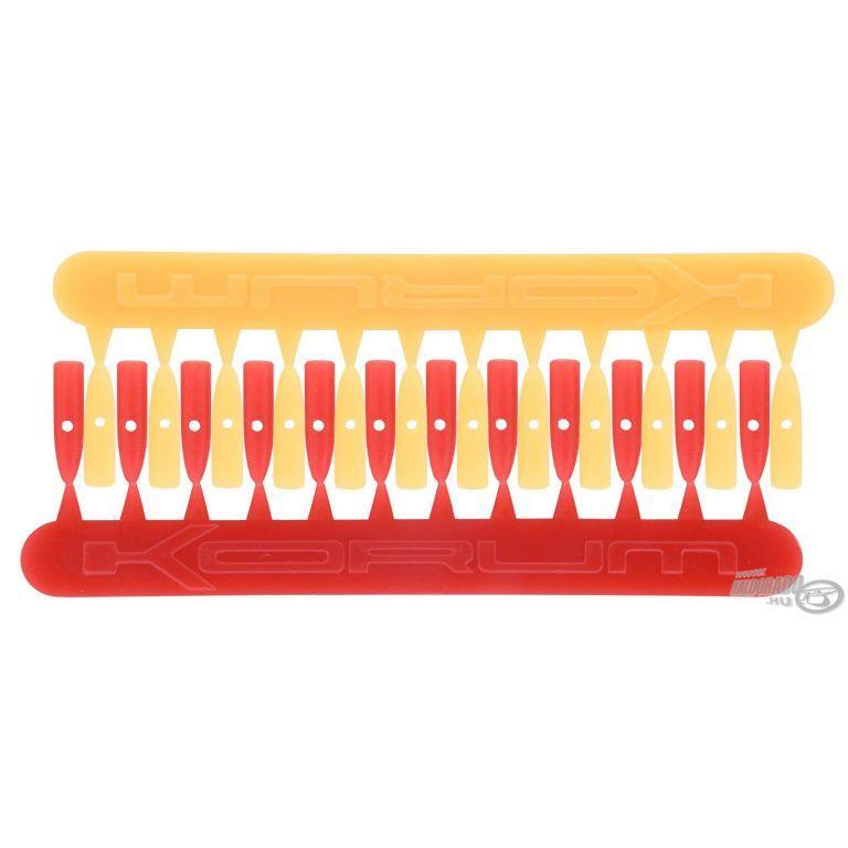 KORUM Csaliütköző XL piros-sárga