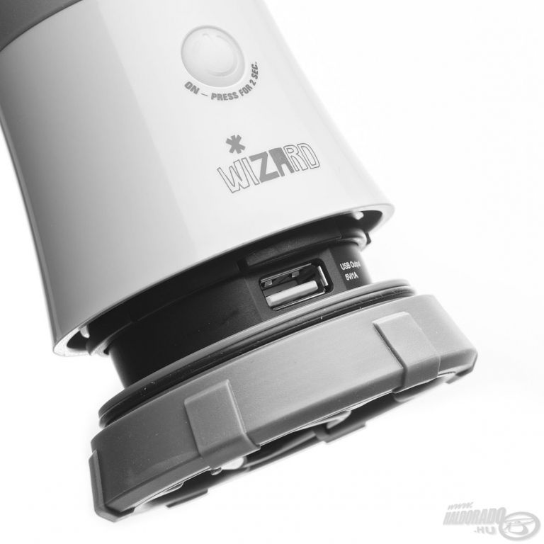 MACTRONIC Wizzard akkumulátoros campinglámpa 520 Lumen