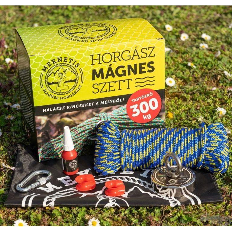 Meknetis Horgász mágnes 300 kg-os Díszdobozos