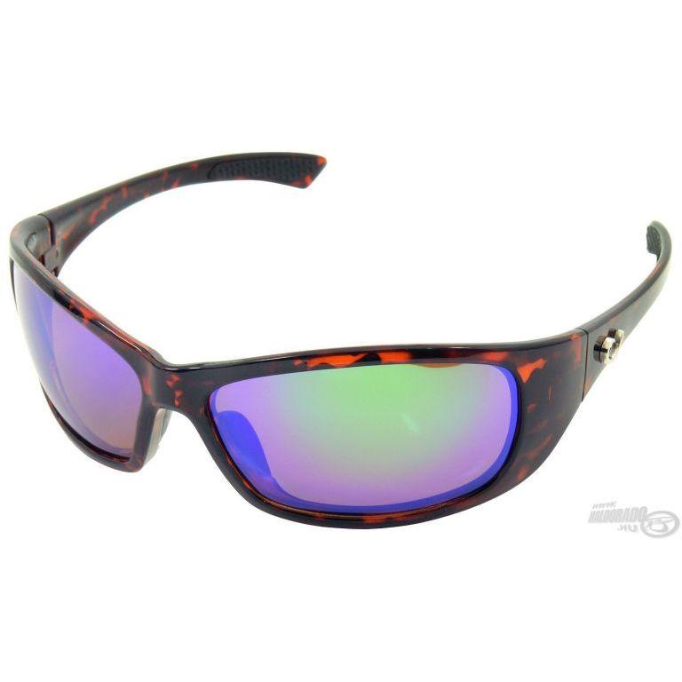 MUSTAD HP104A-3 napszemüveg amber lencsével