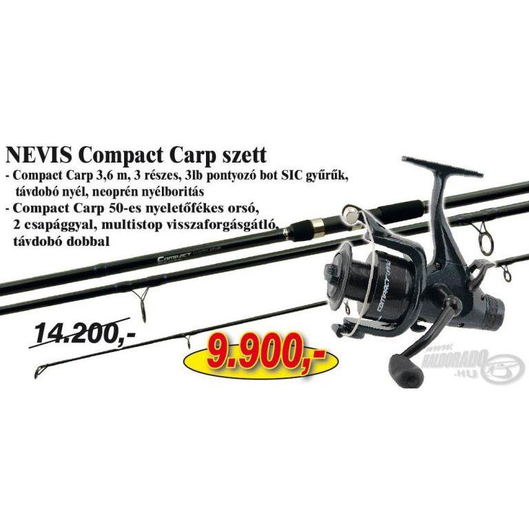 NEVIS Compact Carp szett 2 (KB-414)