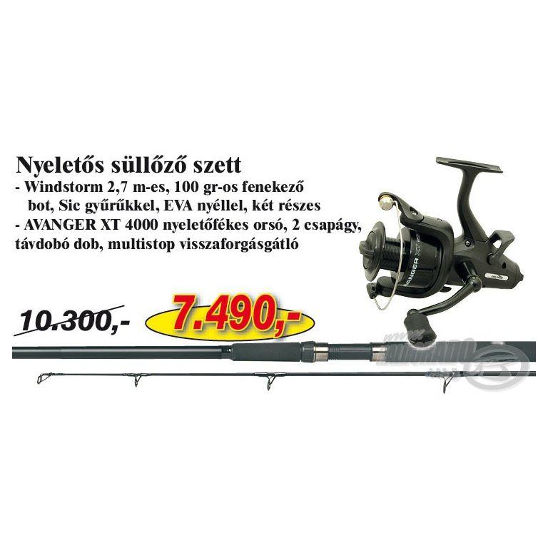 NEVIS Nyeletős Süllőző szett (KB-420)