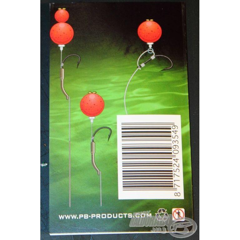 PB PRODUCTS Bait Stops - Csalistopper hajszálelőkére