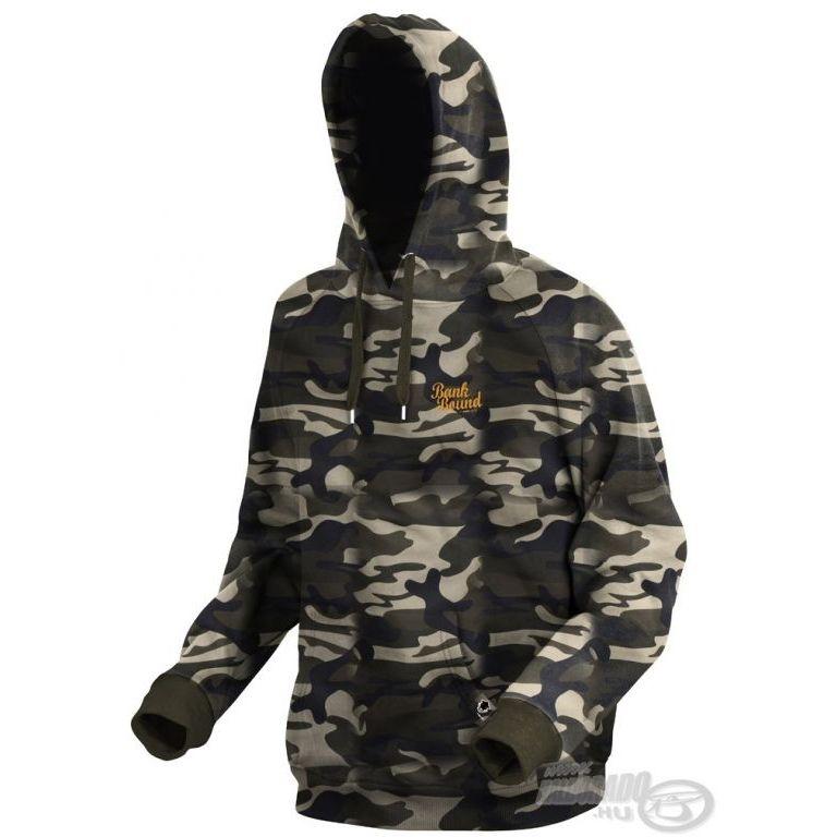 PROLOGIC Bank Bound Terepszínű pulóver XL