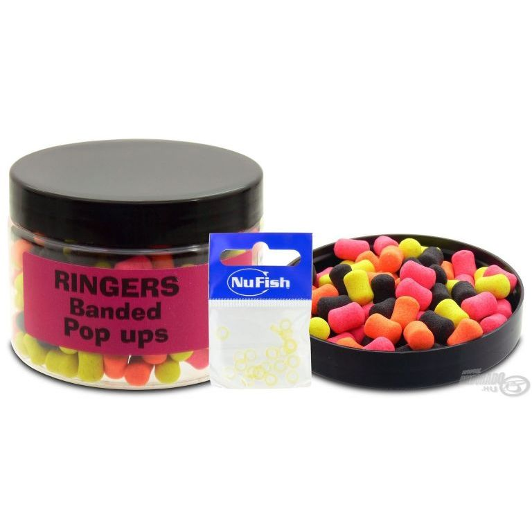 RINGERS Pop Ups Pellet Allsorts Banded 7 mm