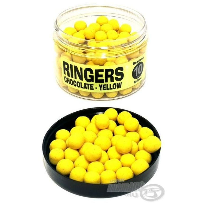 RINGERS Wafter Bojli Chocolate-Yellow 10 mm
