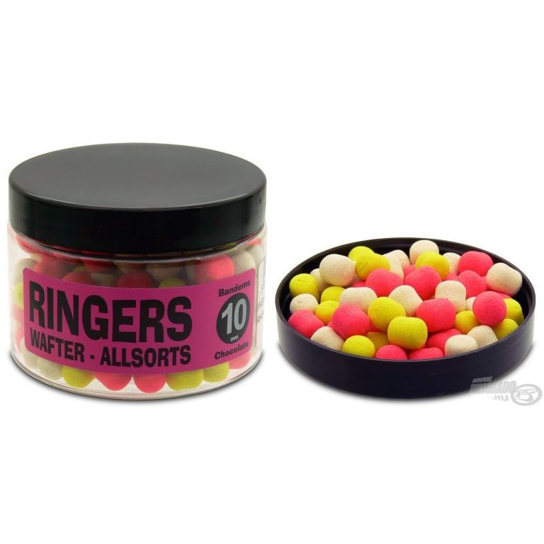 RINGERS Wafter Pellet Chocolate Allsorts Bandems 10 mm