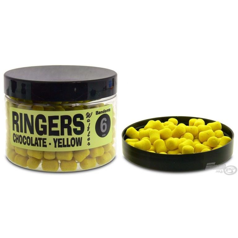RINGERS Wafter Pellet Chocolate-Yellow Bandems 6 mm