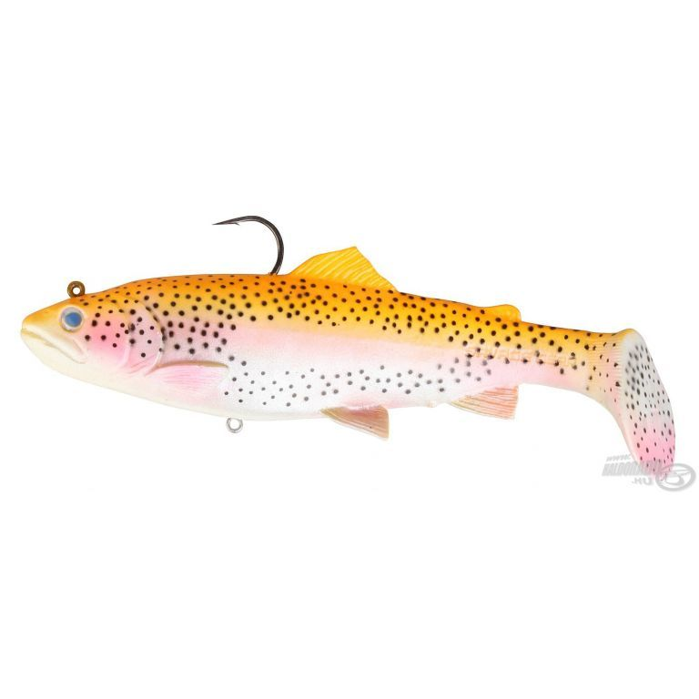 SAVAGE GEAR 3D Trout Rattle Shad 12,5 cm 35 g - Golden Albino Rainbow