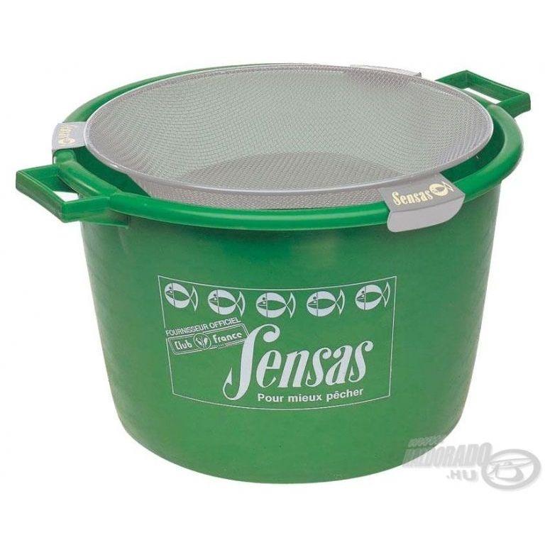 SENSAS Zöld dézsa 40 L