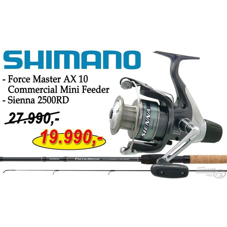 SHIMANO Force Master AX 10 Commercial Mini Feeder Sienna 2500RD orsóval