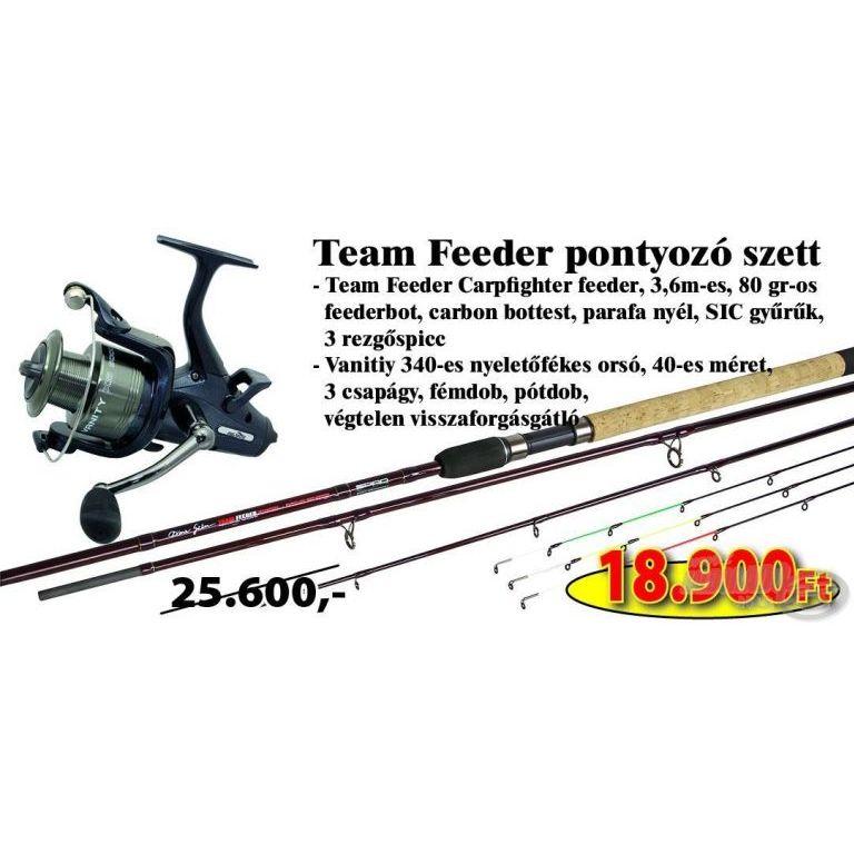 SPRO Team Feeder pontyozó szett 3,6 méteres bottal (KB-438)